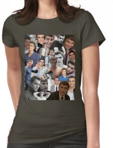 Dave Franco Collage Womens Fitted T-Shirt