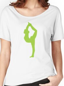 Yoga exercise Women's Relaxed Fit T-Shirt