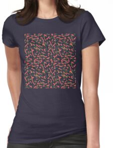 """""""Cheetos"""" Pattern Womens Fitted T-Shirt"""