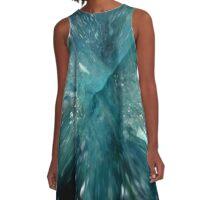 AQUA AURA QUARTZ A-Line Dress