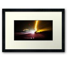 Traveling Light Framed Print