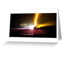 Traveling Light Greeting Card