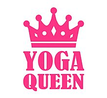 Yoga Queen Photographic Print
