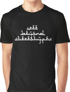 See Beyond Stereotypes Graphic T-Shirt
