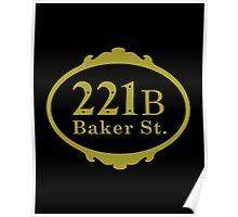 221B Baker Street copy Poster