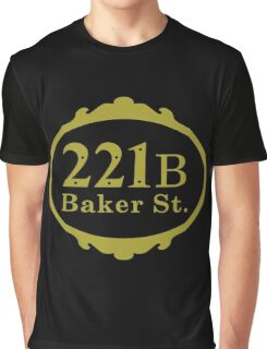 221B Baker Street copy Graphic T-Shirt