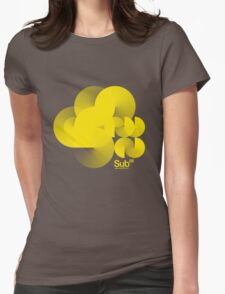 Cloud Sub Womens Fitted T-Shirt