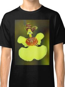 Yellow Orchid Macro Classic T-Shirt
