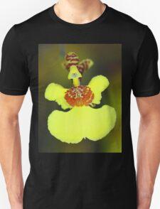 Yellow Orchid Macro Unisex T-Shirt