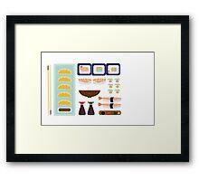 Sushi Time Framed Print