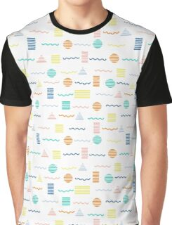 Summer Shapes Graphic T-Shirt