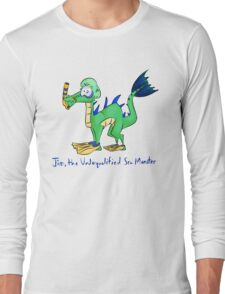 Jim, the Underqualified Sea Monster Long Sleeve T-Shirt