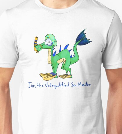 Jim, the Underqualified Sea Monster Unisex T-Shirt