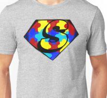Autism Awareness Superman Symbol Unisex T-Shirt