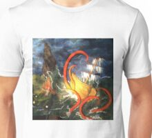 The Kraken ~ Bandon, Oregon Unisex T-Shirt