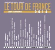 T-Shirt 2014 Tour de France Graphic by Subwaysign