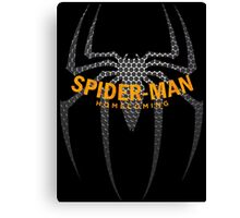 spiderman homecoming Canvas Print