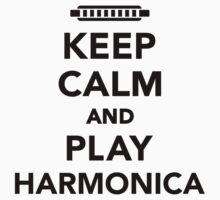 Keep calm and Play Harmonica One Piece - Long Sleeve