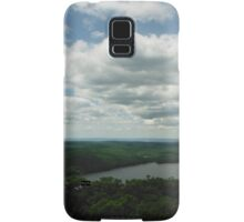 Caroga Lake - View from Kane Mountain Samsung Galaxy Case/Skin