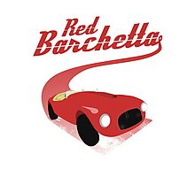 Red Barchetta Photographic Print