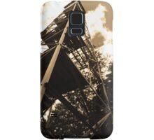 Caroga Lake - Kane Mountain Fire Tower - Sepia Samsung Galaxy Case/Skin