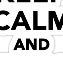 Keep calm and Play Cello Sticker