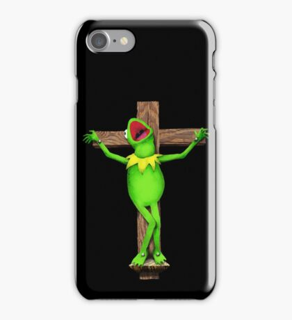 It's Not Easy Being Green iPhone Case/Skin