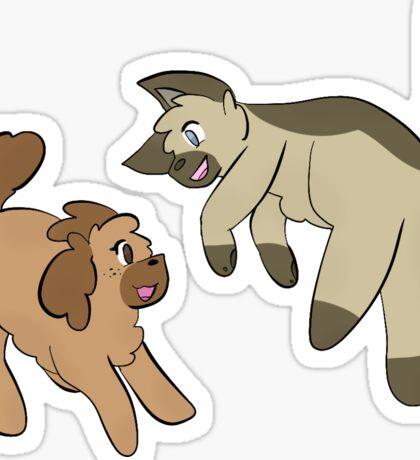 12 Sticker Series 1- Mallow & Ginger Sticker