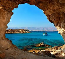 Window to the Libyan Sea by Hercules Milas