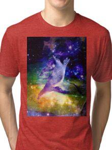 Space Penguin Tri-blend T-Shirt