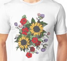 Bouquet of Flowers Unisex T-Shirt
