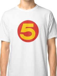 Speed Racer Number 5 Classic T-Shirt