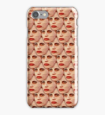 Alyssa Edwards Beauty Mask Pattern iPhone Case/Skin