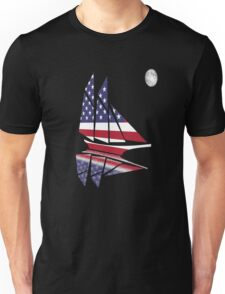 Sail Under the Moon Unisex T-Shirt