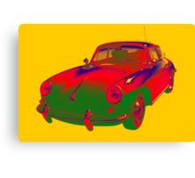 1962  Porsche 356 E Pop Art Canvas Print