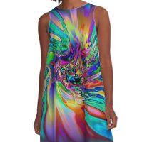 DOLPHIN LOVE A-Line Dress