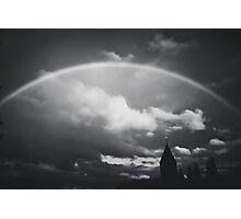 Monochrome Rainbow Photographic Print