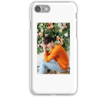Lee Jong Suk phone case #2 (white border) iPhone Case/Skin