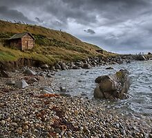 Cosy Nook, Riverton north, South Island, New Zealand by Margaret Metcalfe