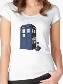 BAD-SMEG-HEAD Women's Fitted Scoop T-Shirt