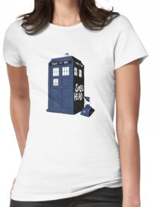 BAD-SMEG-HEAD Womens Fitted T-Shirt