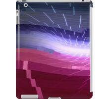 80s Style Modern Glitch Art iPad Case/Skin