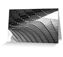 Seville - Black And White Metropol Parasol Greeting Card