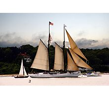 Stormy Afternoon Sail Photographic Print