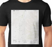 USGS TOPO Map Arizona AZ Spring Water Canyon 20120113 TM Unisex T-Shirt