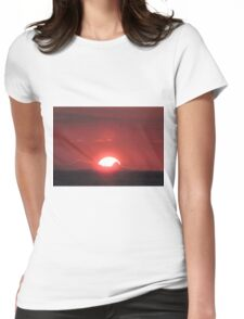 Hunstanton Sunset  #2 Womens Fitted T-Shirt