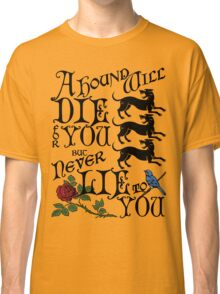 A Hound's Words Classic T-Shirt