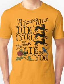 A Hound's Words T-Shirt