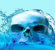 SKULL IN WATER by Icarusismart