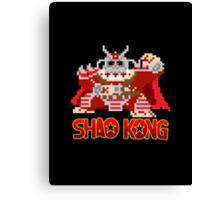 Shao Kong Canvas Print